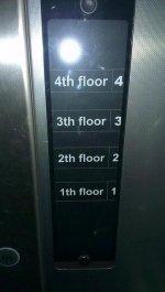 Wskaźnik pięter w windzie